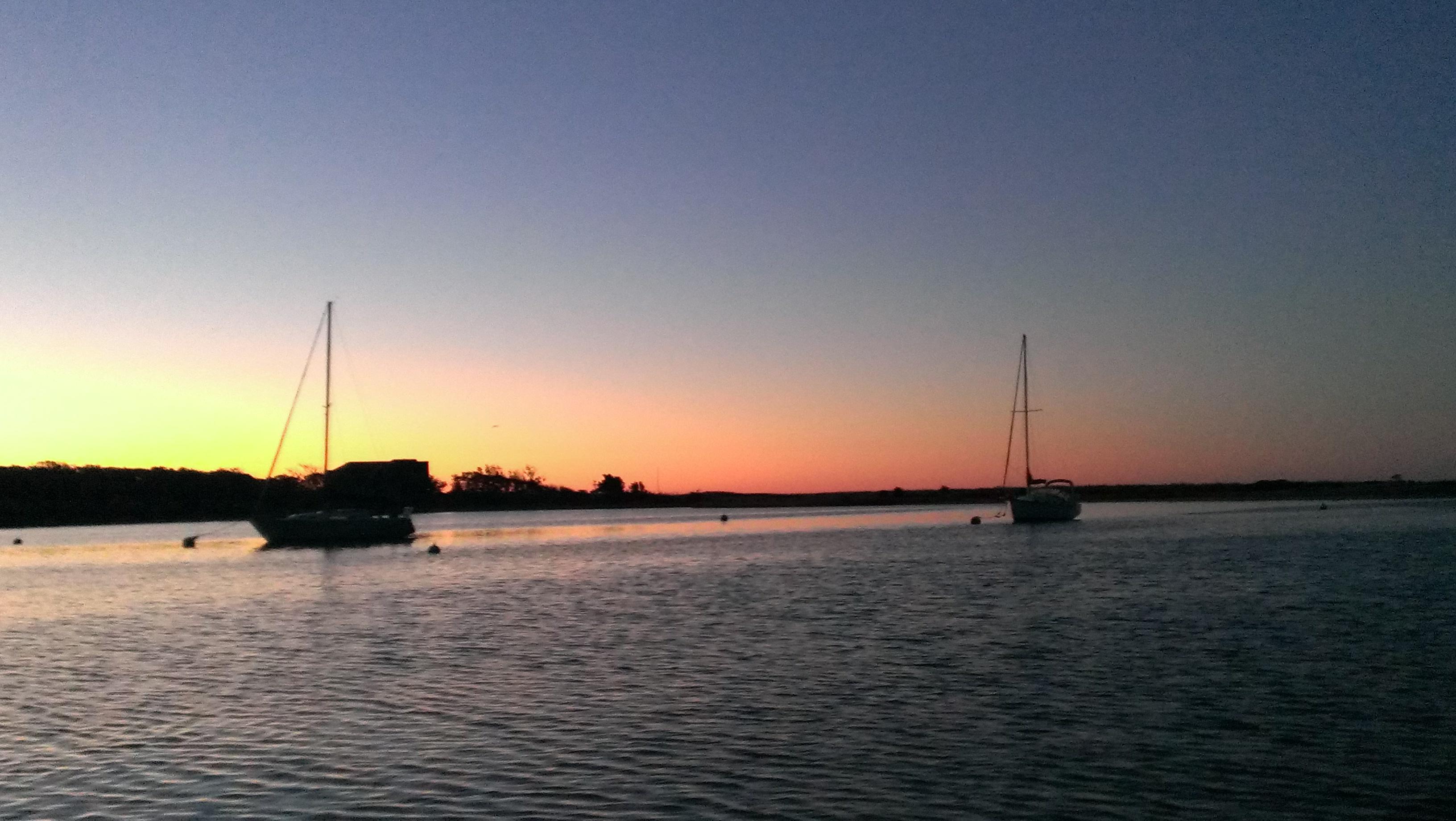 Green Pond Harbor at Sunrise