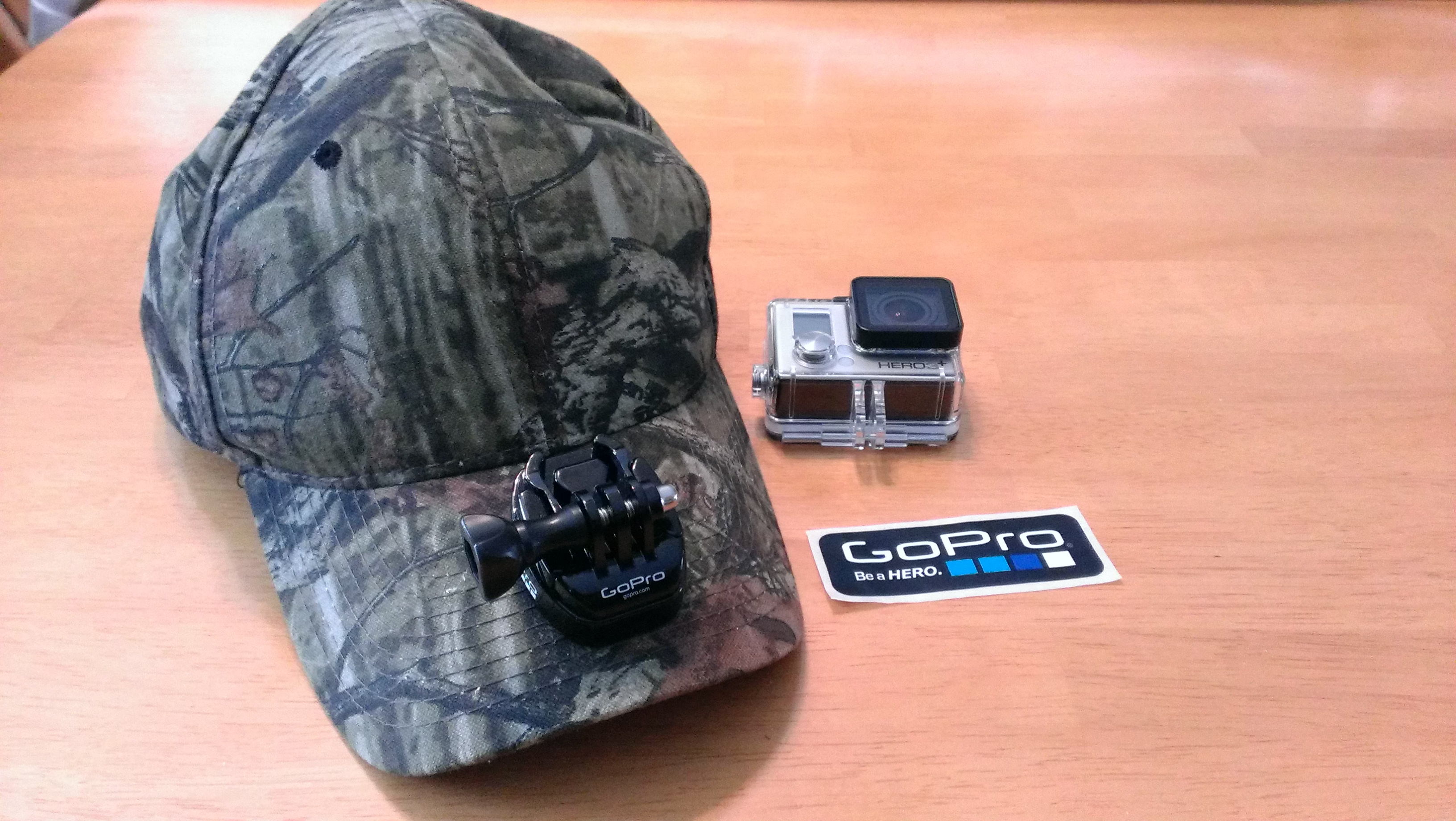 Simply thread the GoPro tripod mount and ensure a tight fasten!